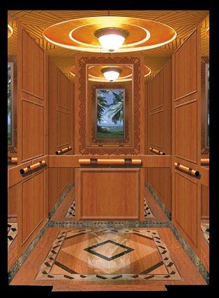 电梯内部怎么画?